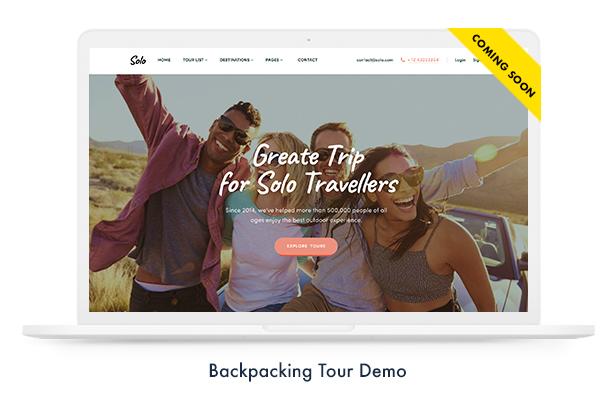 Thèmes WordPress pour les réservations de voyage - 4
