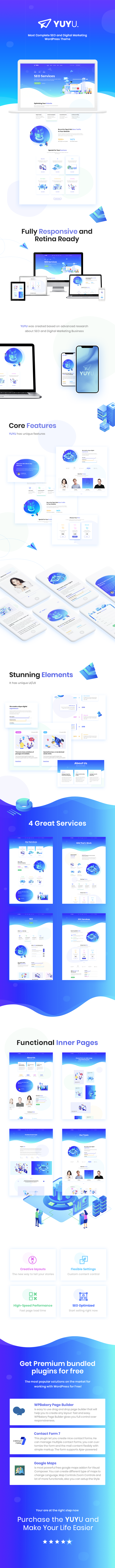 Yuyu - Thème WordPress pour site de création numérique - 1