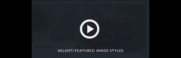 Vidéo de présentation de Valenti Parallax Demo