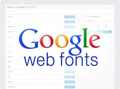 Des tonnes de caractères Google
