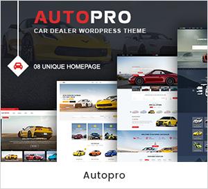 Thème WordPress pour le concessionnaire automobile