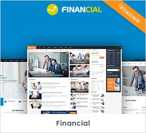 Thème WordPress économique et financier