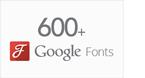 Plus de 600 personnages sur Google
