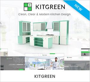 Thème WordPress pour la cuisine moderne et la décoration d'intérieur