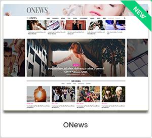 ONews - Thème WordPress moderne pour les journaux et magazines