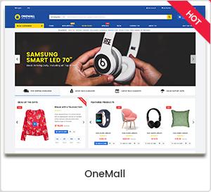 OneMall - Thème WordPress multi-usage de commerce électronique et de marché