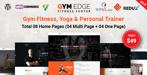 thème WordPress fitness gym