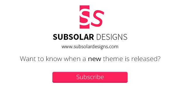 Abonnement Subsolar Designs