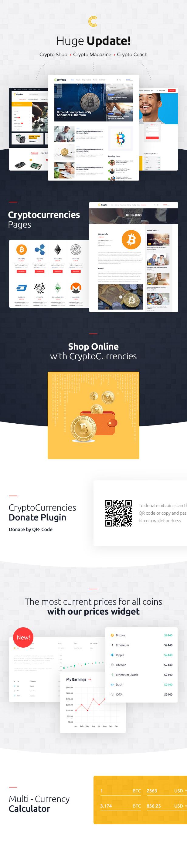 Thème WordPress Crypto-monnaie