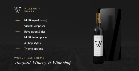 Villenoir - Vignoble, établissement vinicole et oenologique