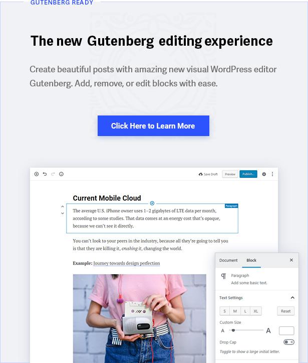Styles de Gutenberg
