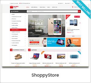 ShoppyStore - Thème WordPress polyvalent