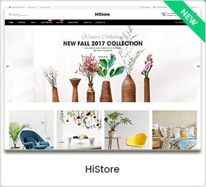HiStore - Thème WordPress pour site de commerce électronique et marché multi-usages