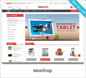 MaxShop - Thème WordPress polyvalent pour WooCommerce