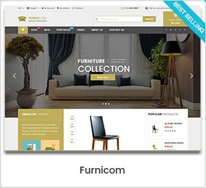 Furnicom - Magasin de meubles et design d'intérieur Thème WordPress WooCommerce