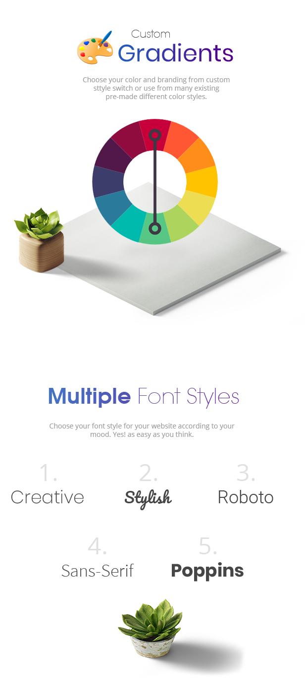 Wexim - Thème créatif WordPress - 6
