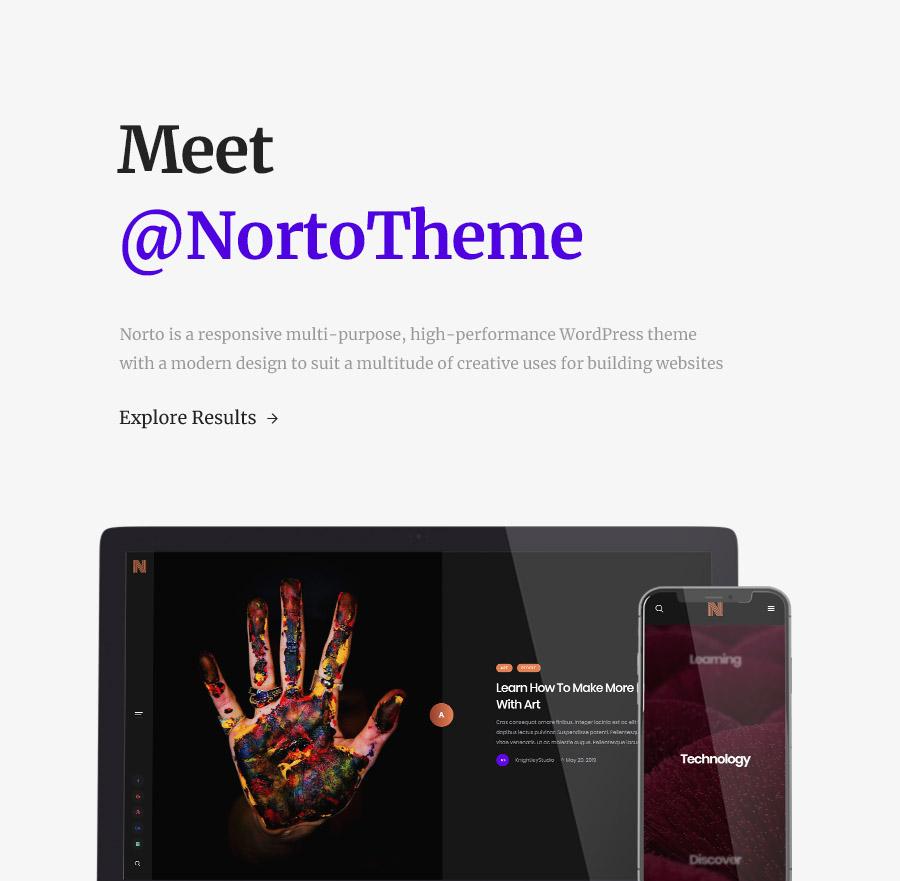 Norto - Thème WordPress pour les portefeuilles créatifs - 5