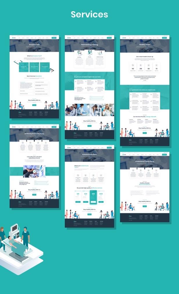 Ninedok - Thème WordPress Laboratoire et Recherche - 3
