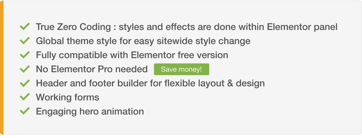 Thym - Kit de modèle Elementor pour restaurant et café - 1