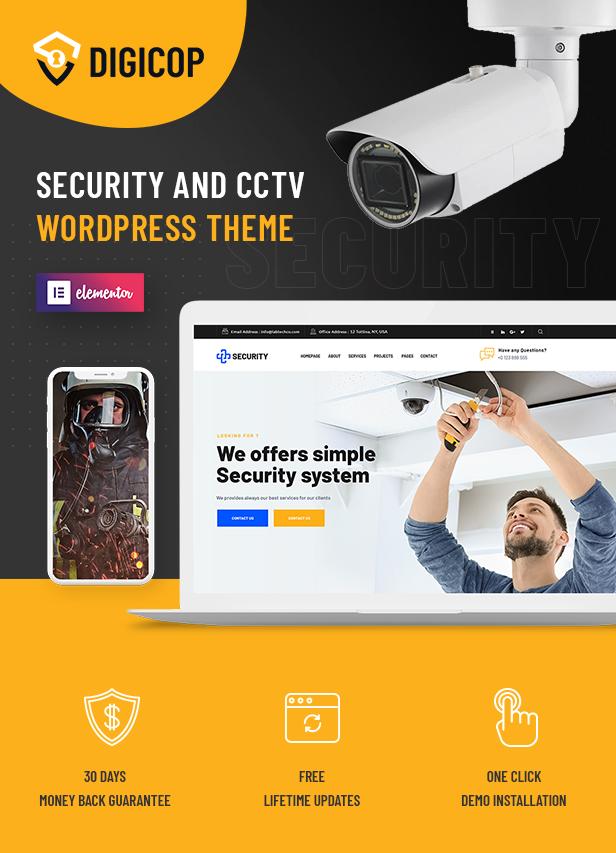 Thème WordPress Digicop