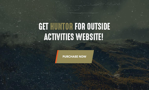 Thème WooCommerce Huntor Hunting Outdoor Shop - Achat